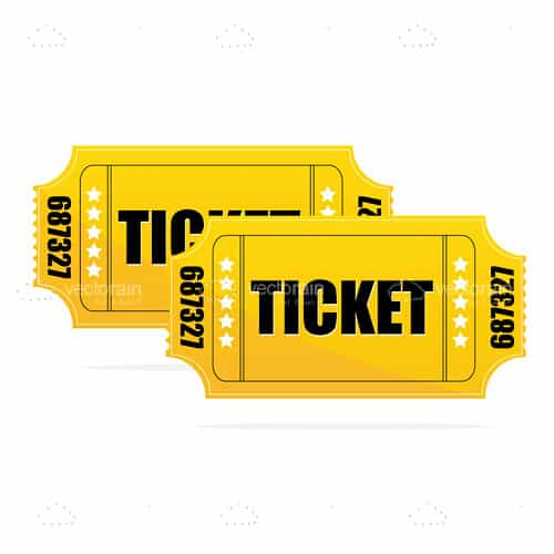 Pair of Yellow Tickets