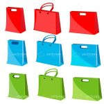 Shopping Bag Icons 9 Pack