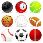 Different Sports Balls Set