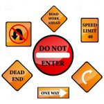 Road Signs 7 Pack