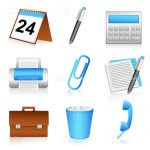 Office Elements Icon Set
