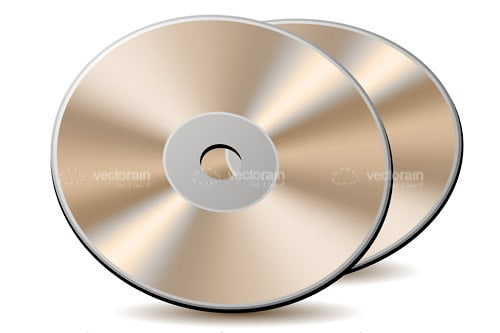 Pair of Shiny CDs