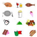 Junk Food Icons 12 Pack