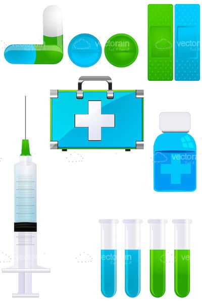 Medical Icons 7 Pack