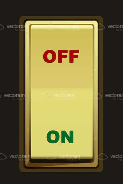 Illustrated On/Off Switch