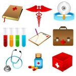 Medicine Related Icon Set
