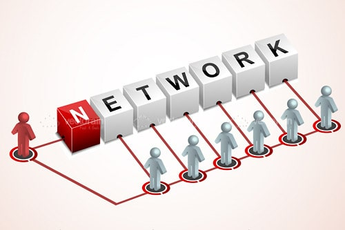 3D Networking Logo
