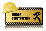 Under Construction Hazard Sign
