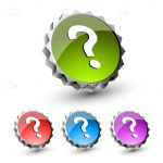 Colourful Question Mark Icon Pack