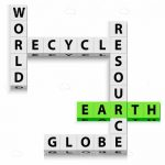 World, Recycle, Resource, Globe, Earth Word Game!