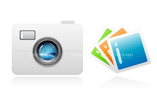 Abstract Camera with Instant Photographs
