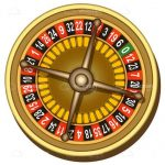 Golden Roulette Wheel