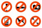 Not Allowed Signs Icon Set