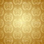 Abstract Cream Floral Background