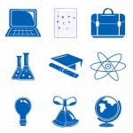 Study and Science Icon Set