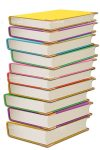 Pile of Books in Various Colours