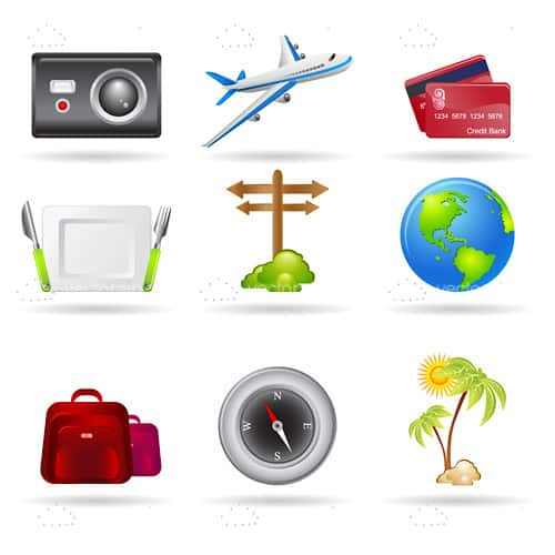 Travelling Icon Pack