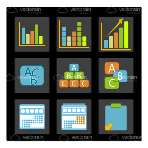 Selection of Business Icons