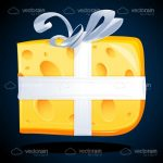 Gift Wrapped Cheese