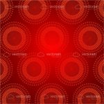 Abstract Red Futuristic Background