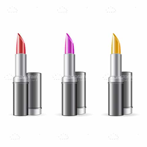 3 Colours of Lipstick