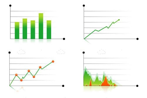 Modern Business Graphs Pack