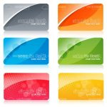 Colourful Membership Cards