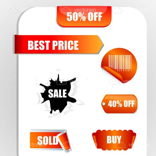 Discount and Sales Tags