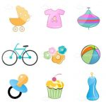 Infant Elements Icon Set