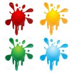Colourful Abstract Splashes