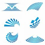 Abstract Geometric Patterns Icon Set