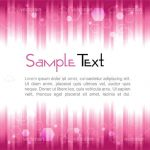 Abstract Background with Stripes and Rhomboid Pattern and Sample Text