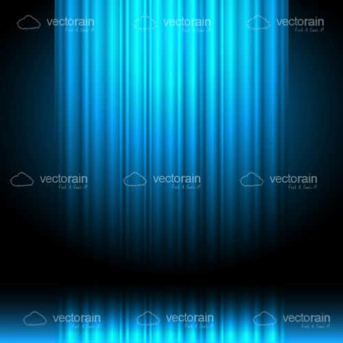 Black Background with Blue Light Rays