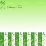 Abstract Nature Background with Leaves and Stripes Pattern