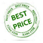 Green Best Price Stamp