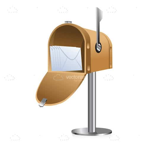 Abstract 3D Mail Box