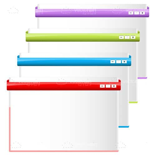 Colourful Web Pages Frames