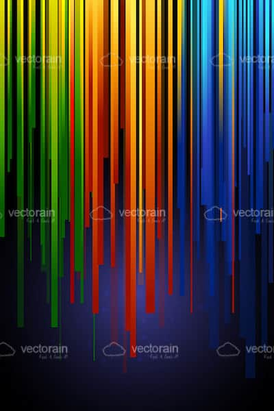Abstract Colourful Vertical Lines Background