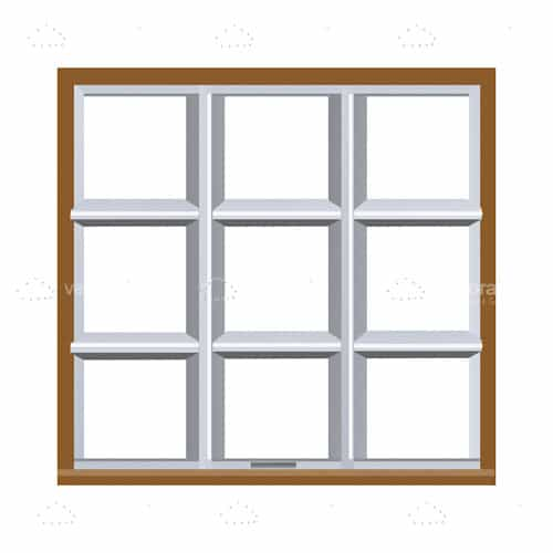 Pane Square Window