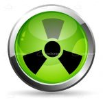 Glossy Nuclear Icon