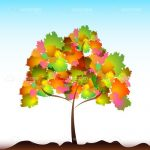 Colourful Abstract Tree