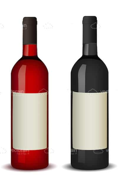 Pair of Wine Bottles
